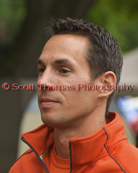 Ghislain Marcoux, driver of the CE666 El Diablo, during the drivers meeting before the start of the Syracuse Hyrdrofest racing on June, 20, 2009.