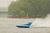 Hydroplane Y22 Y-Knot being driven by Richard Shaw racing on Onondaga Lake during Syracuse Hyrdofest on Saturday, June 20, 2009.