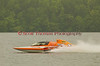 Hydroplane GP93 Renegade being driven by Marty Wolfe racing on Onondaga Lake during Syracuse Hyrdofest on Saturday, June 20, 2009.