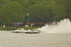 Rolling Thunder (GP88 on the left) and Miss Dinomytes (GP46) racing side to side during the Grand Prix Hyrdroplane heat during the Syracuse Hydrofest on Saturday, June 20. 2009.