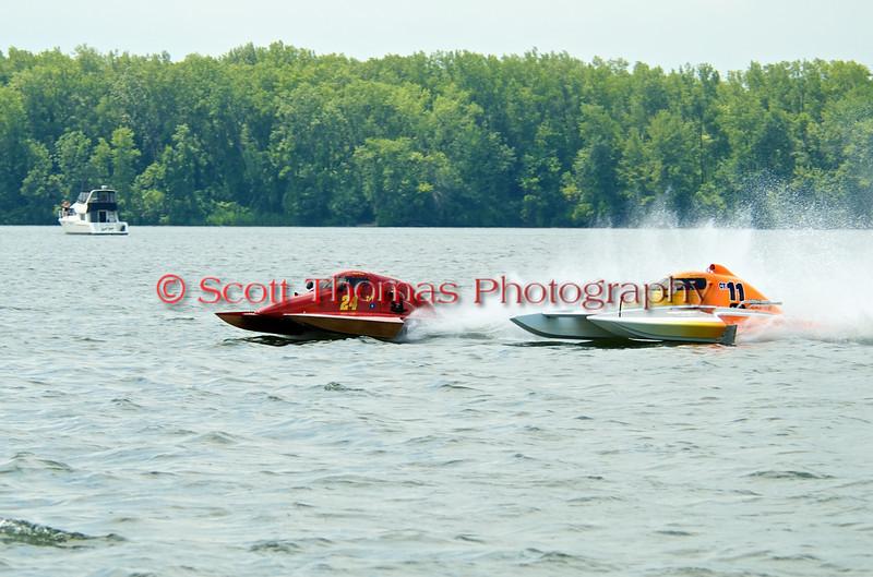 1.5 Liter hydroplane nnnnnn (T-XXX) driven by nnnnnnnn racing at the 2010 Syracuse Hydrofest held at Onondaga Lake Park near Liverpool, New York on Sunday, June 20.