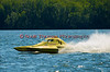 1.0 Liter Modified hydroplane Fast Eddie Too (Y-1) driven by Dan Kanfoush racing at the 2010 Syracuse Hydrofest held at Onondaga Lake Park near Liverpool, New York on Sunday, June 20.