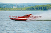 2.5 Liter hydroplane Unfinished Business (S-11) driven by Tom Vielhauer racing at the 2010  Syracuse Hydrofest  held at Onondaga Lake Park near Liverpool, New York on Sunday, June 20.