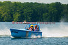Jersey Skiff JS-9 on the course at the 2010 Syracuse Hydrofest held at Onondaga Lake Park near Liverpool, New York on Sunday, June 20.