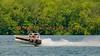 """The JS-65 """"flying"""" over Onondaga Lake during Syracuse Hyrdofest on Sunday, June 20, 2010."""