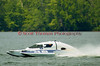 2.5 Liter hydroplane nnnnnn (CS-46) driven by Claude Loiselle racing at the 2010 Syracuse Hydrofest held at Onondaga Lake Park near Liverpool, New York on Sunday, June 20.