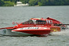 2.5 Liter hydroplane GoFastSports.com (CS-007) driven by Tommy Bergeron racing at the 2010 Syracuse Hydrofest held at Onondaga Lake Park near Liverpool, New York on Sunday, June 20.