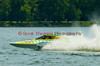 2.5 Liter hydroplane Metivier Racing (CS-43) driven by David Metivier racing at the 2010 Syracuse Hydrofest held at Onondaga Lake Park near Liverpool, New York on Sunday, June 20.