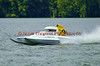 2.5 Liter hydroplane Second Choice (S-41) driven by Scott Thompson racing at the 2010 Syracuse Hydrofest held at Onondaga Lake Park near Liverpool, New York on Sunday, June 20.