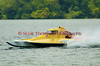 2.5 Liter hydroplane Sonic Wave (CS-20) driven by Thomas R. Diabo racing at the 2010 Syracuse Hydrofest held at Onondaga Lake Park near Liverpool, New York on Sunday, June 20.