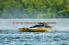 2.5 Liter hydroplane AMA Demolition (CS-33) driven by Marco Poireir racing at the 2010 Syracuse Hydrofest held at Onondaga Lake Park near Liverpool, New York on Sunday, June 20.