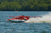 1.5 Liter hydroplane Little Dream (CT-48) driven by Darla racing at the 2010 Syracuse Hydrofest held at Onondaga Lake Park near Liverpool, New York on Sunday, June 20.