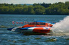 5.0 Liter Stock hydroplane Miss Beauharnois (CE-2) driven by Richard Haineaultz on the course at the 2010 Syracuse Hydrofest  held at Onondaga Lake Park near Liverpool, New York on Sunday, June 20.