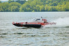 2.5 Liter hydroplane Fast Times (S-53) driven by John Shaw racing at the 2010  Syracuse Hydrofest held at Onondaga Lake Park near Liverpool, New York on Sunday, June 20.