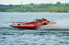 2.5 Liter hydroplane Cargotek (S-19) driven by Sylvain Maheu racing at the 2010  Syracuse Hydrofest  held at Onondaga Lake Park near Liverpool, New York on Sunday, June 20.