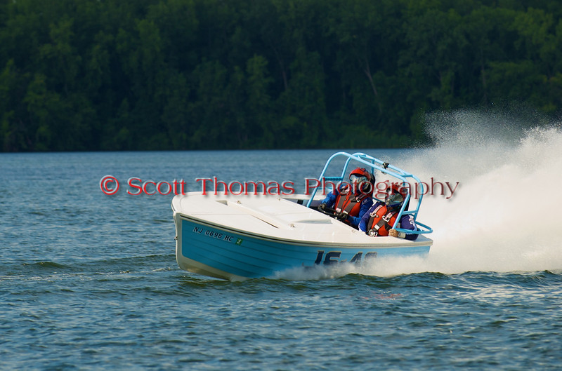 Jersey Skiff JS-40 on the course at the 2010 Syracuse Hydrofest held at Onondaga Lake Park near Liverpool, New York on Sunday, June 20.
