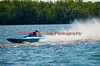 1.5 Liter hydroplane Fly'n'Eagle (CT-10) driven by Abbott Jonathan racing at the 2010 Syracuse Hydrofest held at Onondaga Lake Park near Liverpool, New York on Sunday, June 20.