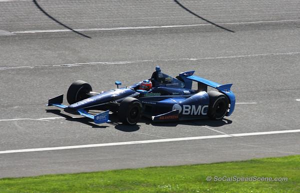 Rubens Barrichello - IndyCar Auto Club Speedway