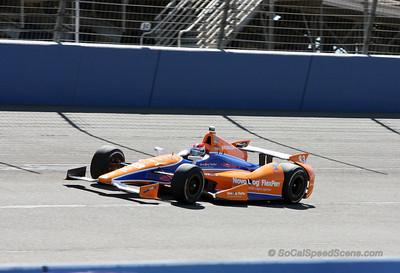 Charlie Kimball - IndyCar Auto Club Speedway