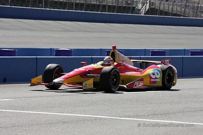 Sebastian Saavedra - IndyCar Auto Club Speedway