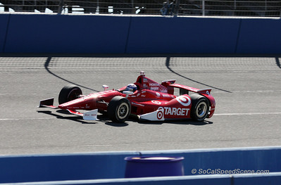 Scott Dixon - IndyCar Auto Club Speedway
