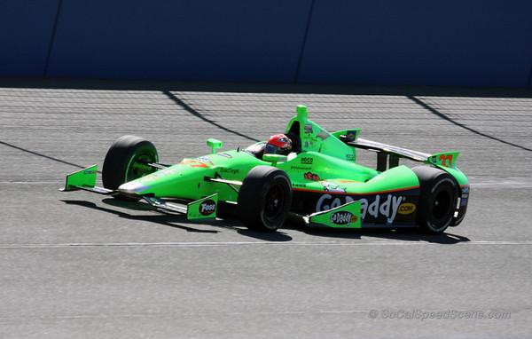 James Hinchcliffe - IndyCar Auto Club Speedway