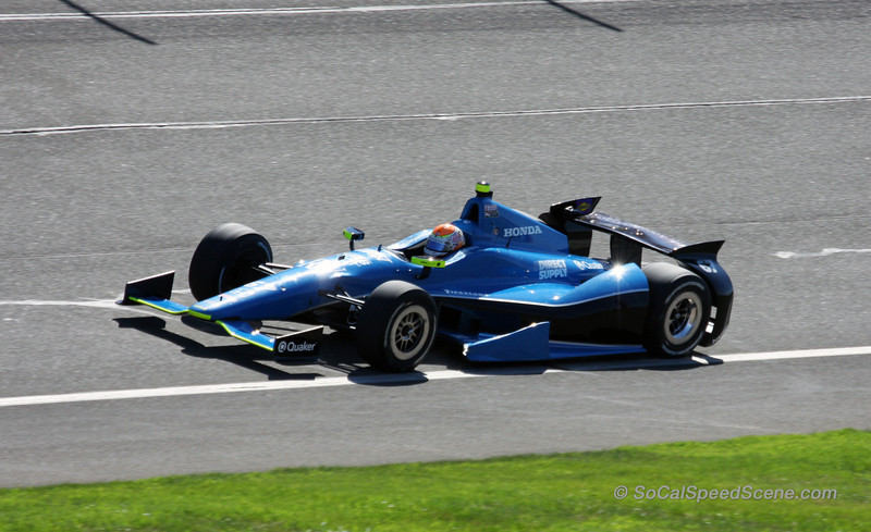 Josef Newgarden - IndyCar Auto Club Speedway