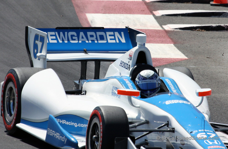 Charlie Kimball #83 Novo Nordisk Ganassi Racing - Toyota Grand Prix of Long Beach