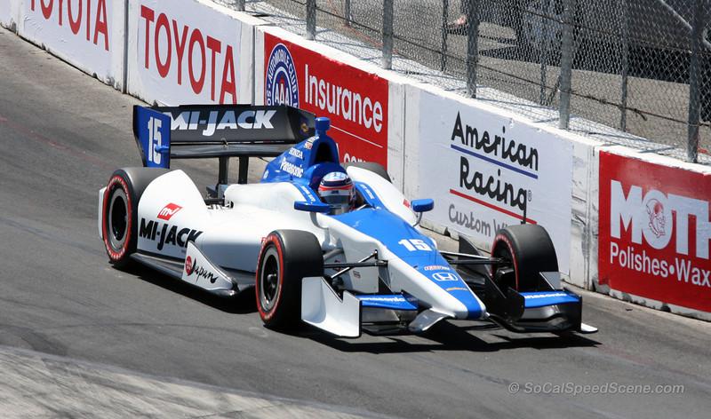 Takuma Sato #15 Rahal Letterman Lanigan Racing - Toyota Grand Prix of Long Beach