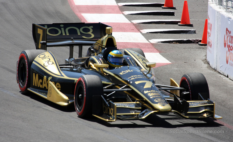 Sebastien Bourdais #7 Dragon Racing - Toyota Grand Prix of Long Beach