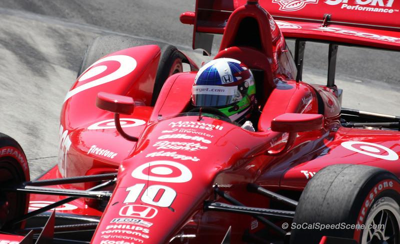 Dario Franchitti #10 Target Ganassi - Toyota Grand Prix of Long Beach