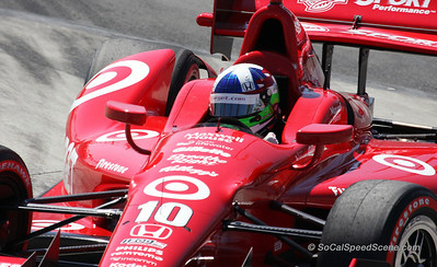 Dario Franchitti #10 Target Ganassi - Toyota Grand Prix of Long Beach