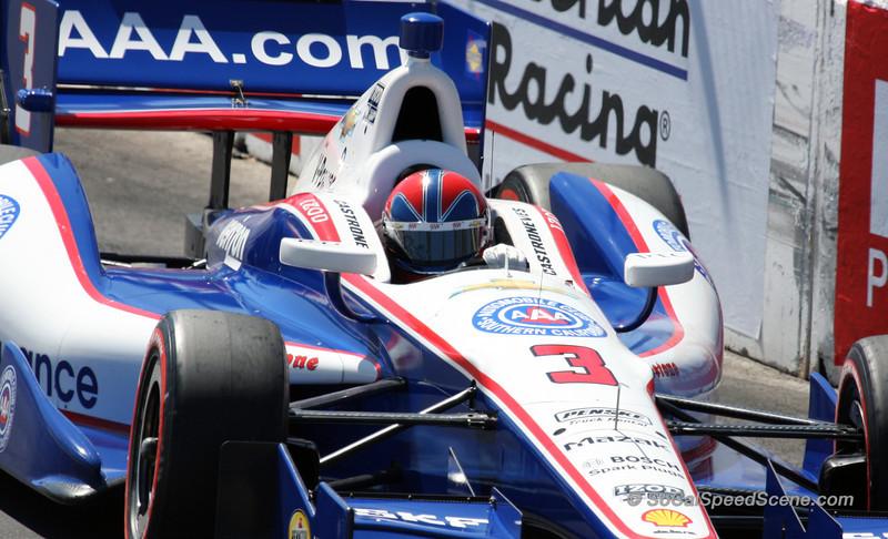 Helio Castroneves #3 Team Penske - Toyota Grand Prix of Long Beach
