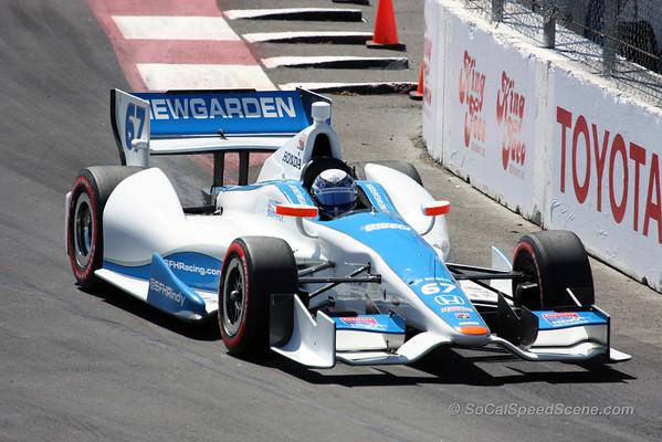 Josef Newgarden #67 Sarah Fisher Hartman Racing - Toyota Grand Prix of Long Beach