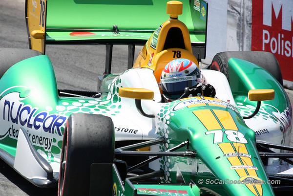 Simona de Silvestro #78 KVM Racing - Toyota Grand Prix of Long Beach