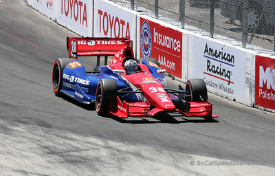 Graham Rahal #38 Service Central Ganassi Racing - Toyota Grand Prix of Long Beach