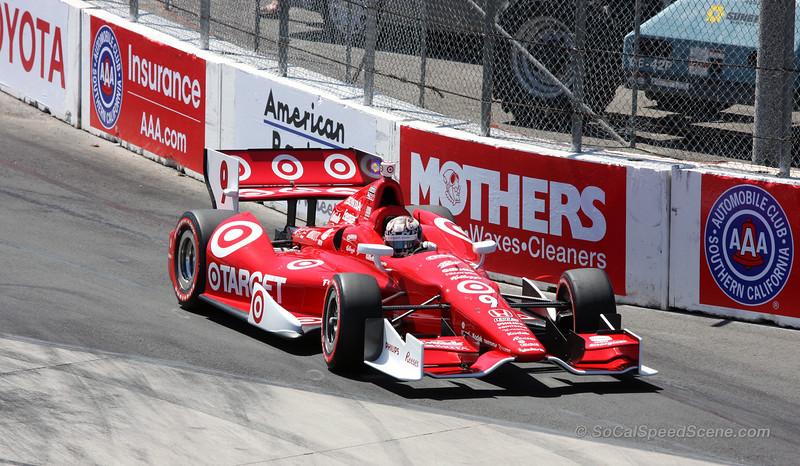 Scott Dixon #9 Target Ganassi - Toyota Grand Prix of Long Beach