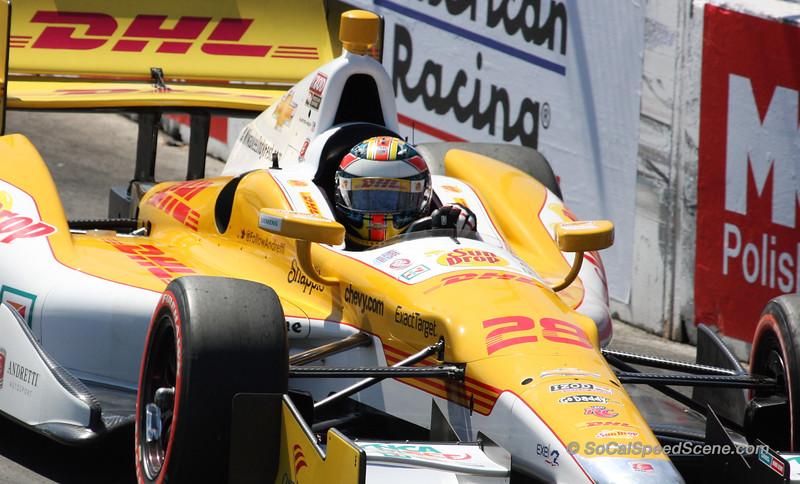 Ryan Hunter-Reay #28 Andretti Autosport - Toyota Grand Prix of Long Beach