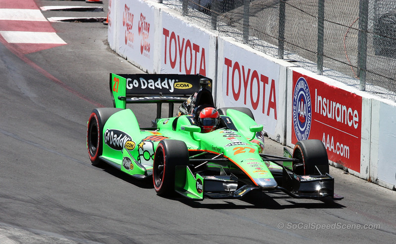James Hinchcliffe #27 Andretti Autosport - Toyota Grand Prix of Long Beach