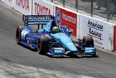 Tony Kanaan #11 KV Racing Technology - Toyota Grand Prix of Long Beach
