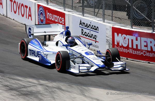 Ryan Briscoe #6 Penske Racing - Toyota Grand Prix of Long Beach