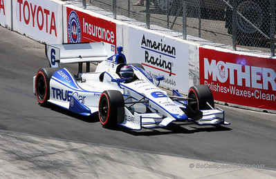 Ryan Briscoe #6 Penske Racing - Toyota Grand Prix of Long Beach