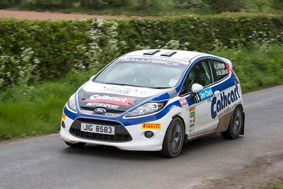 Ayton, Stage 1, Jim Clark Rally 2012