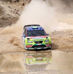 Miko Hirvonen, Ford Focus RS WRC07, SS16 Baptism Site 2.