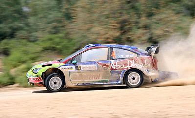 Jari-Matti Latvala, Ford Focus RS WRC07, SS22 Jordan River 2.