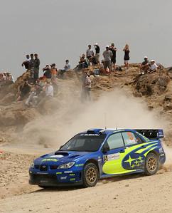 Petter Solberg, Subaru Impreza WRC06, SS13 Turki 2.