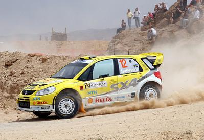 Per-Gunnar Andersson, Suzuki SX4, SS13 Turki 2.