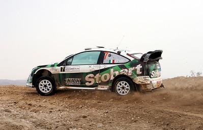 Gigi Galli, Ford Focus RS WRC07, SS16 Baptism Site.