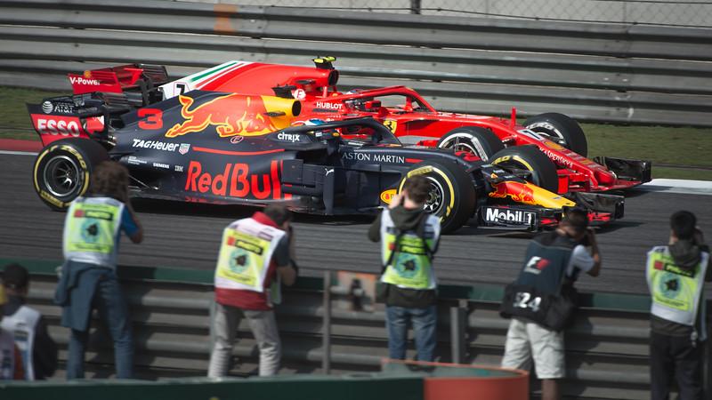 Ricciardo /Raikkonan -Shanghai 2018