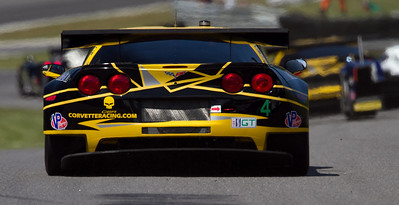 4 Corvette Racing Compuware Chevrolet Corvette C6 ZR1 drivers Oliver Gavin and Tommy Milner